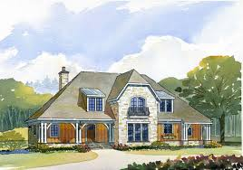 Cottage Storybook Elev French Country House Plans Home Design Free