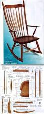 Wooden Rocking Chairs by Windsor Rocking Chair Plans Furniture Plans And Projects