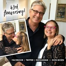 don don moen married to laura moen in 1973 living together with their