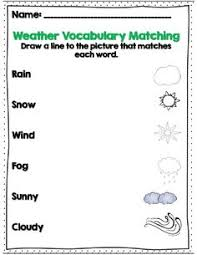 freebie weather chart for the kiddos toddler first grade