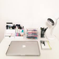 School Desk Organizers by Nehrdist U201cwooo I Finally Came Back Home And Organised My Desk