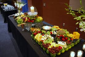 wedding catering ideas fruit and cheese display wedding catering photos