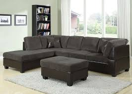 sectional sofa black microfiber sectional sofa with chaise