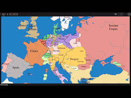 European Country Map by European Time Lapse Map W Years U0026 Events Youtube