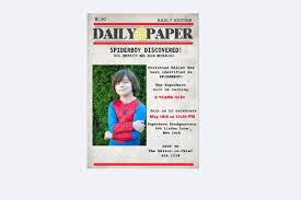 5 birthday newspaper templates word pdf psd indesign format