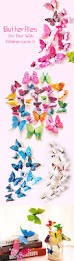 the 25 best 3d butterfly wall decor ideas on pinterest 12pcs self sticky double layer 3d butterfly wall stickers diy decorations for kids rooms