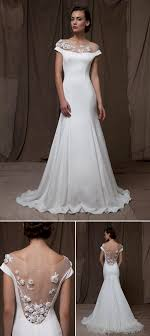 illusion neckline wedding dress illusion neckline wedding dresses bridal market junebug weddings