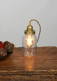 Edison Bulb Table Lamp Vintage Reading Lamps For Your Living Room Bulbs Jar Lights And