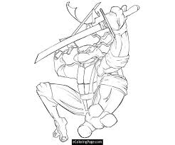 teenage mutant ninja turtles free coloring pages art