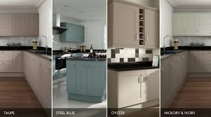 elegant painted kitchen classic shaker style kitchens by sheraton