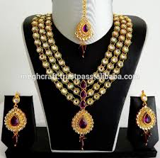 wholesale necklace set images Designer kundan jewelry set wholesale kundan jewellery set jpg
