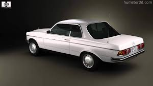 mercedes w123 coupe for sale mercedes e class w123 coupe 1975 by 3d model store humster3d