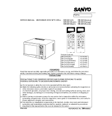 sanyo em g451 service manual download schematics eeprom repair