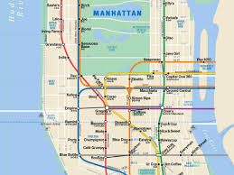 Mta Map Subway Subway Map Nyc Directions Mtainfo Map Uk