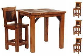 Reclaimed Wood Bistro Table Amazing Rustic Bistro Table And Chairs 5 Rustic Wyoming Pub