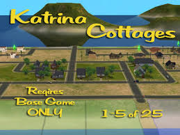 Katrina Cottages Mod The Sims U0027katrina Cottages U0027 Homes For Your Post Disaster