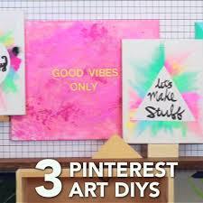 Best  Diy Canvas Ideas On Pinterest Diy Canvas Art Puffy - Decorative wall painting ideas for bedroom