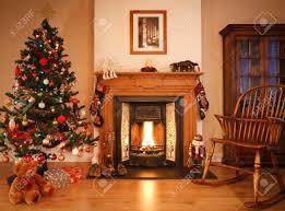 christmas fireplace stock photos royalty free christmas fireplace