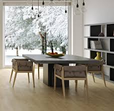 dining room sets modern style concrete dining table modern all about concrete dining table