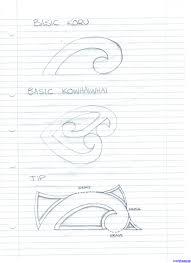 how to draw ta moko design mangopare by tattoos pop