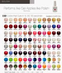 opi shellac nail polish color chart nails art ideas