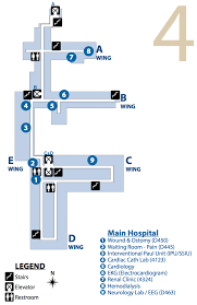 Phoenix Airport Terminal Map Facility Campus Map Phoenix Va Health Care System