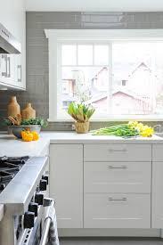 Kitchen Subway Tile Backsplash Designs White And Grey Kitchen Backsplash Best 25 Grey Backsplash Ideas