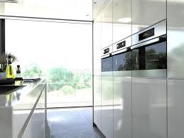 cuisine incorporé acier moderne de four de cuisine incorporé à une unité 3d