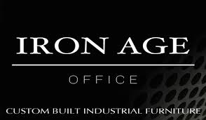 Custom Built Desks Home Office by Iron Age Office Industrial Office Furniture Custom Built Desks