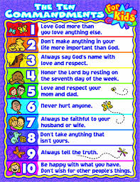 amazon com carson dellosa christian the ten commandments for kids