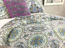 Home Goods Comforter Sets Cynthia Rowley Quilt Blue Cynthia Rowley Full Queen Elephant