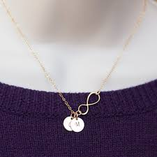 infinity necklace with initials sale personalized infinity necklace tiny gold necklace letter