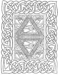 eye of horus coloring page by lorrainekelly on deviantart