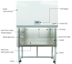 biological safety cabinet class 2 304 stainless steel biological safety cabinet class ii with vfd