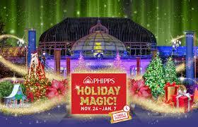 phipps conservatory u0027s winter flower show and light garden