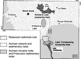 low temperature serpentinization processes and kimberlite