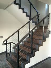 Indoor Banisters And Railings 38 Edgy Cable Railing Ideas For Indoors And Outdoors Digsdigs