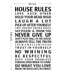 Family House Rules User Uploaded Family House Rules Gallery Blinds