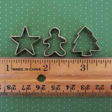 mini cookie cutters lights decoration