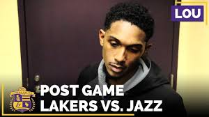 lou williams after 38 points performance in lakers loss to jazz