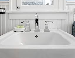 10 tips for decorating around a pedestal sink u2013 pfister faucets