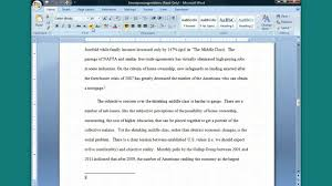 chicago manual sample paper inserting a footnote in word turabian footnote bib style youtube