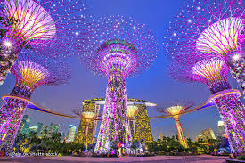 three great light shows in singapore evening sound and light shows