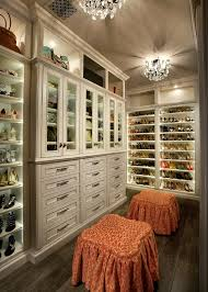 Small Chandeliers For Closets Shoe Closet Ideas Traditional With Crown Molding Small