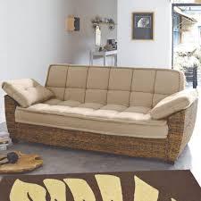 canapé convertible rotin canape convertible rotin maison design wiblia com