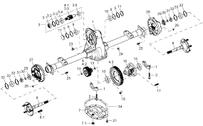 help with a dana spicer h 12 electric rear transaxle