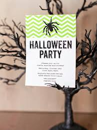 Kids Halloween Birthday Party Invitations by 41 Printable And Free Halloween Templates Hgtv