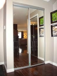 Door Mirror Glass by Glass Closet Door S