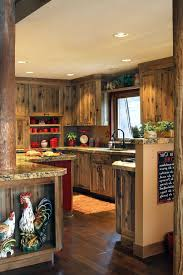 country styled kitchen special aspects decoration