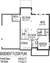 2 Bedroom Floor Plans With Basement 2 Story House Plans With Basement Basements Ideas